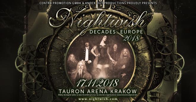 """Nightwish: Kompilacyjny album """"Decades"""" już w sprzedaży"""